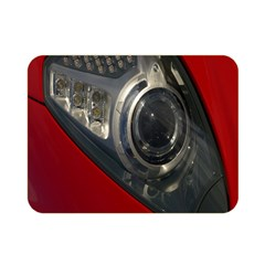 Auto Red Fast Sport Double Sided Flano Blanket (mini)  by Nexatart