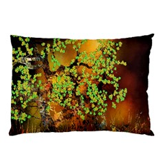 Backdrop Background Tree Abstract Pillow Case by Nexatart