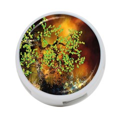 Backdrop Background Tree Abstract 4 Port Usb Hub (two Sides)  by Nexatart
