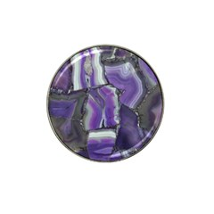 Purple Agate Natural Hat Clip Ball Marker by Alisyart