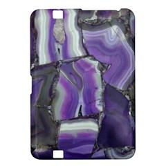 Purple Agate Natural Kindle Fire Hd 8 9  by Alisyart