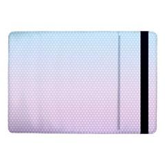 Simple Circle Dot Purple Blue Samsung Galaxy Tab Pro 10 1  Flip Case by Alisyart