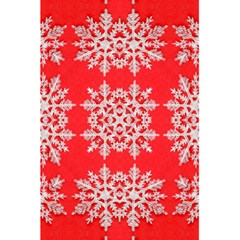 Background For Scrapbooking Or Other Stylized Snowflakes 5 5  X 8 5  Notebooks by Nexatart