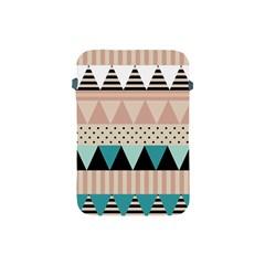 Triangle Wave Chevron Grey Apple Ipad Mini Protective Soft Cases by Alisyart