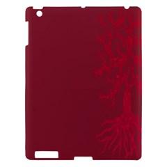 Tree Animals Flower Floral Leaf Pink Bird Apple Ipad 3/4 Hardshell Case by Alisyart