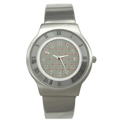 Vintage Floral Tumblr Quotes Stainless Steel Watch by Alisyart