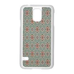 Vintage Floral Tumblr Quotes Samsung Galaxy S5 Case (white) by Alisyart