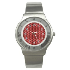 Hexagon Based Geometric Stainless Steel Watch by Alisyart