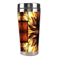 Background Pattern Stainless Steel Travel Tumblers by Nexatart
