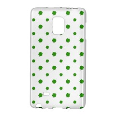 Saint Patrick Motif Pattern Galaxy Note Edge by dflcprints