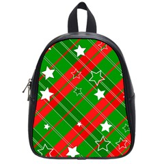 Background Abstract Christmas School Bags (small)  by Nexatart