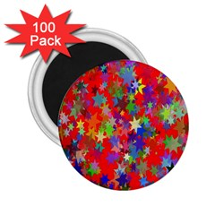 Background Celebration Christmas 2 25  Magnets (100 Pack)  by Nexatart