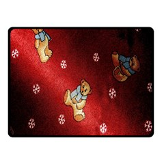 Background Fabric Fleece Blanket (Small) by Nexatart