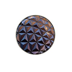 Background Geometric Shapes Hat Clip Ball Marker (4 Pack) by Nexatart