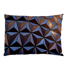 Background Geometric Shapes Pillow Case (two Sides) by Nexatart