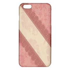 Background Pink Great Floral Design Iphone 6 Plus/6s Plus Tpu Case by Nexatart