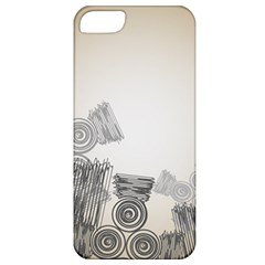 Background Retro Abstract Pattern Apple Iphone 5 Classic Hardshell Case by Nexatart