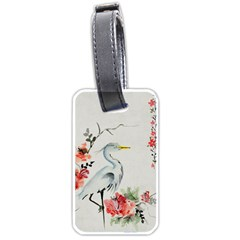 Background Scrapbook Paper Asian Luggage Tags (one Side)
