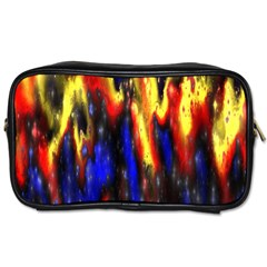 Banner Header Plasma Fractal Toiletries Bags
