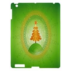Beautiful Christmas Tree Design Apple Ipad 3/4 Hardshell Case by Nexatart
