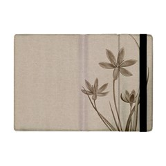Background Vintage Drawing Sepia Apple Ipad Mini Flip Case by Nexatart