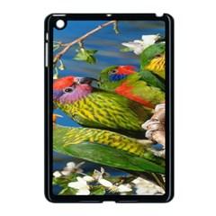 Beautifull Parrots Bird Apple Ipad Mini Case (black) by Nexatart