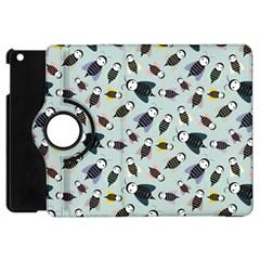 Bees Animal Pattern Apple iPad Mini Flip 360 Case by Nexatart