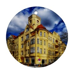 Berlin Friednau Germany Building Ornament (Round)