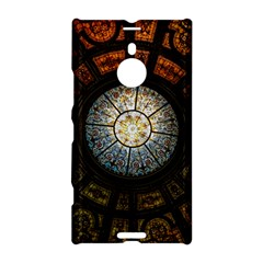 Black And Borwn Stained Glass Dome Roof Nokia Lumia 1520 by Nexatart