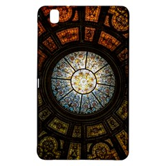 Black And Borwn Stained Glass Dome Roof Samsung Galaxy Tab Pro 8 4 Hardshell Case by Nexatart