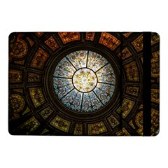 Black And Borwn Stained Glass Dome Roof Samsung Galaxy Tab Pro 10 1  Flip Case by Nexatart