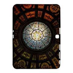 Black And Borwn Stained Glass Dome Roof Samsung Galaxy Tab 4 (10 1 ) Hardshell Case