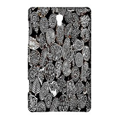 Black And White Art Pattern Historical Samsung Galaxy Tab S (8 4 ) Hardshell Case  by Nexatart