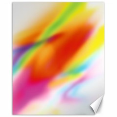 Blur Color Colorful Background Canvas 16  X 20   by Nexatart
