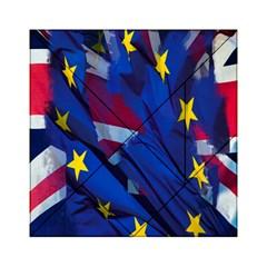 Brexit Referendum Uk Acrylic Tangram Puzzle (6  x 6 )