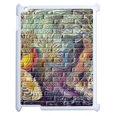 Brick Of Walls With Color Patterns Apple Ipad 2 Case (white) by Nexatart
