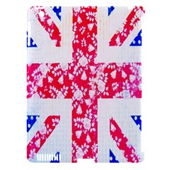 British Flag Abstract Apple iPad 3/4 Hardshell Case (Compatible with Smart Cover) by Nexatart