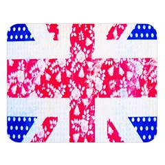 British Flag Abstract Double Sided Flano Blanket (large)  by Nexatart