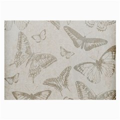Butterfly Background Vintage Large Glasses Cloth by Nexatart