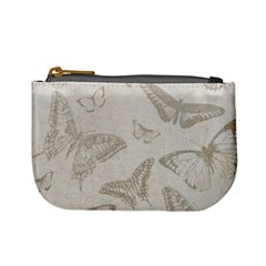 Butterfly Background Vintage Mini Coin Purses
