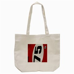 Car Auto Speed Vehicle Automobile Tote Bag (cream) by Nexatart