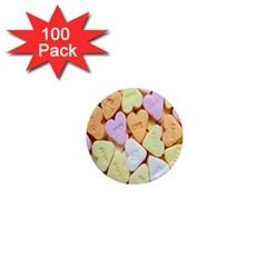 Candy Pattern 1  Mini Magnets (100 Pack)  by Nexatart