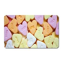 Candy Pattern Magnet (rectangular) by Nexatart