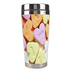 Candy Pattern Stainless Steel Travel Tumblers by Nexatart
