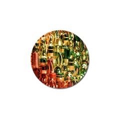 Candles Christmas Market Colors Golf Ball Marker (4 Pack) by Nexatart