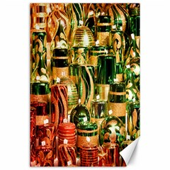 Candles Christmas Market Colors Canvas 24  X 36  by Nexatart
