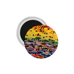 Car Painting Modern Art 1 75  Magnets by Nexatart
