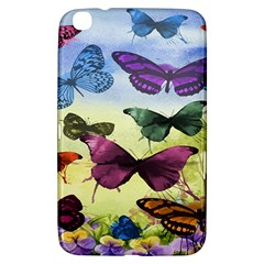 Butterfly Painting Art Graphic Samsung Galaxy Tab 3 (8 ) T3100 Hardshell Case  by Nexatart