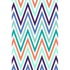 Chevrons Colourful Background 5.5  x 8.5  Notebooks by Nexatart