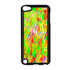 Cheerful Phantasmagoric Pattern Apple Ipod Touch 5 Case (black) by Nexatart